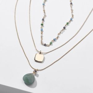 Anthropologie Triple Layered Necklace